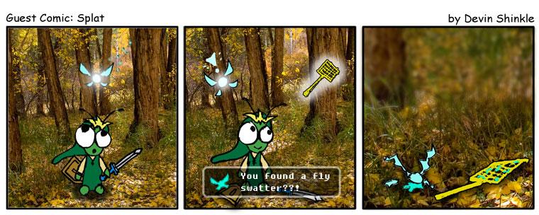 Guest Comic: Splat